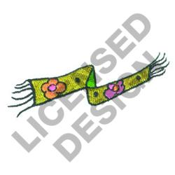SCARF embroidery design
