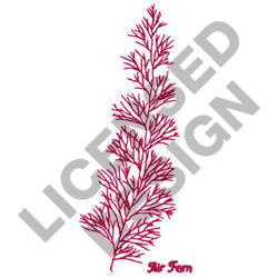 AIR FERN embroidery design