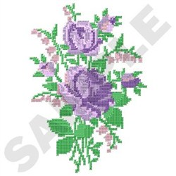 Cross Stitch Bouquet embroidery design