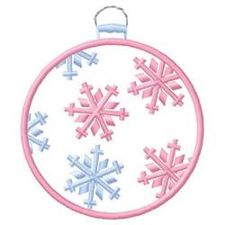 Snowflake Ornament embroidery design