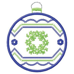 Decorative Ornament embroidery design