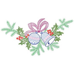Christmas Swag embroidery design