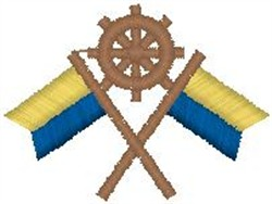 Nautical Emblem embroidery design