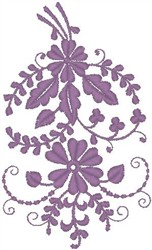 Flowery Decoration embroidery design