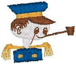 Toy Captain embroidery design