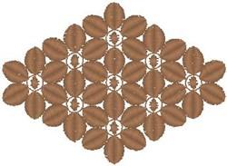 Flower Diamond embroidery design