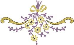 Tied Arrangement embroidery design