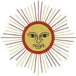 Sunshine embroidery design