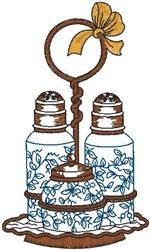 Salt Pepper Shaker embroidery design