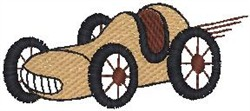 Roadster embroidery design