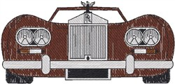 Rolls Royce embroidery design