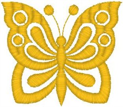 Big Butterfly embroidery design