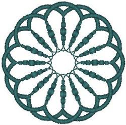 Circular Scroll embroidery design