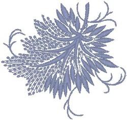 Purple Leaf embroidery design