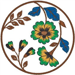 Sunflower Patch embroidery design