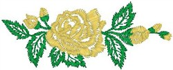 Rose Buds and Bloom embroidery design