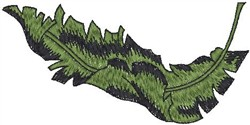 Plant Leaf embroidery design