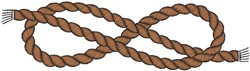 Boating Rope embroidery design