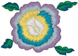 Wild Tropical Flower embroidery design