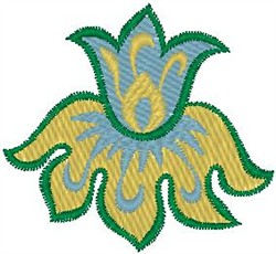 Flower in Bloom embroidery design
