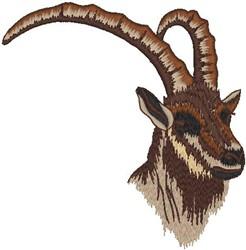 Gemsbok embroidery design