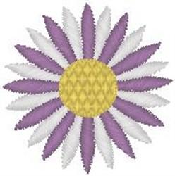 Multicolored Daisy embroidery design