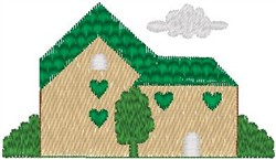 Green House embroidery design