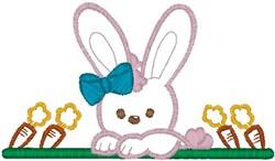 Bunny Bar embroidery design