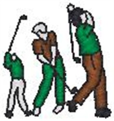 Driving Range embroidery design