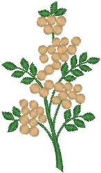 Circular Blossoms embroidery design