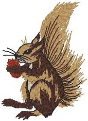Red Squirrel embroidery design