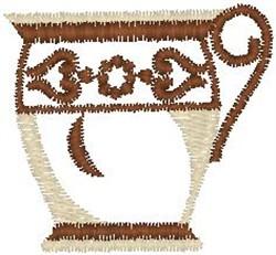 Mug embroidery design