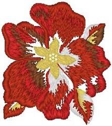 Tropical Flower Blossom embroidery design