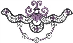 Scroll 76587 embroidery design