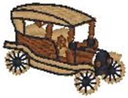 Antique Car8 embroidery design