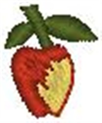 Temptation Fruit embroidery design