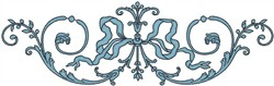 Scroll 77216 embroidery design
