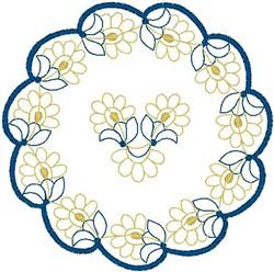 Doilie embroidery design