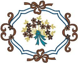 Bouquet Decor embroidery design