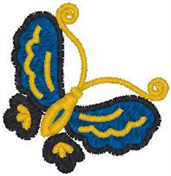 Butterfly 440 embroidery design