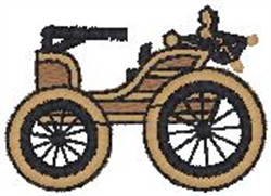 Horseless Carriage2 embroidery design