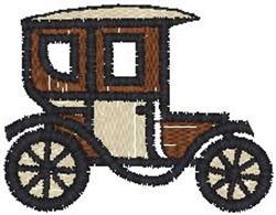 Antique Car12 embroidery design