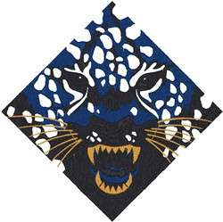 Tiger Diamond embroidery design