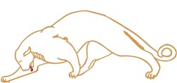 Puma embroidery design