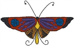 Butterfly 029 embroidery design
