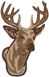 Big Buck embroidery design
