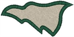 Banner Flag embroidery design