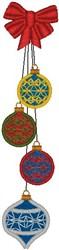 Ornaments Border embroidery design