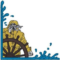 Seaman Border embroidery design