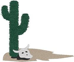 Cactus Border embroidery design